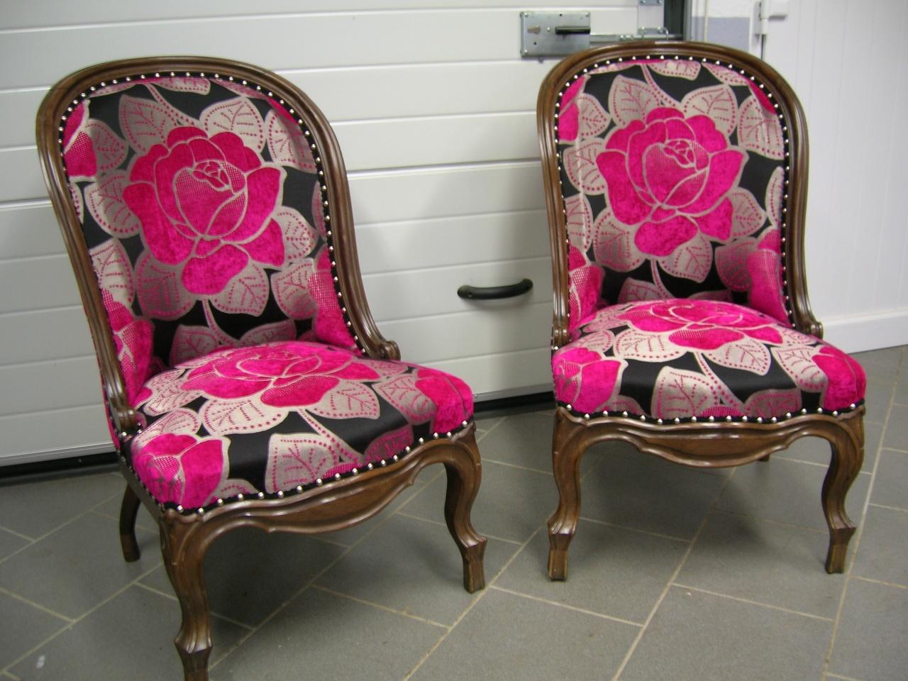 Paire de fauteuils Louis-Philippe