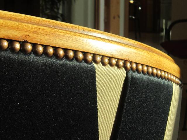 Détail fauteuil Art Déco