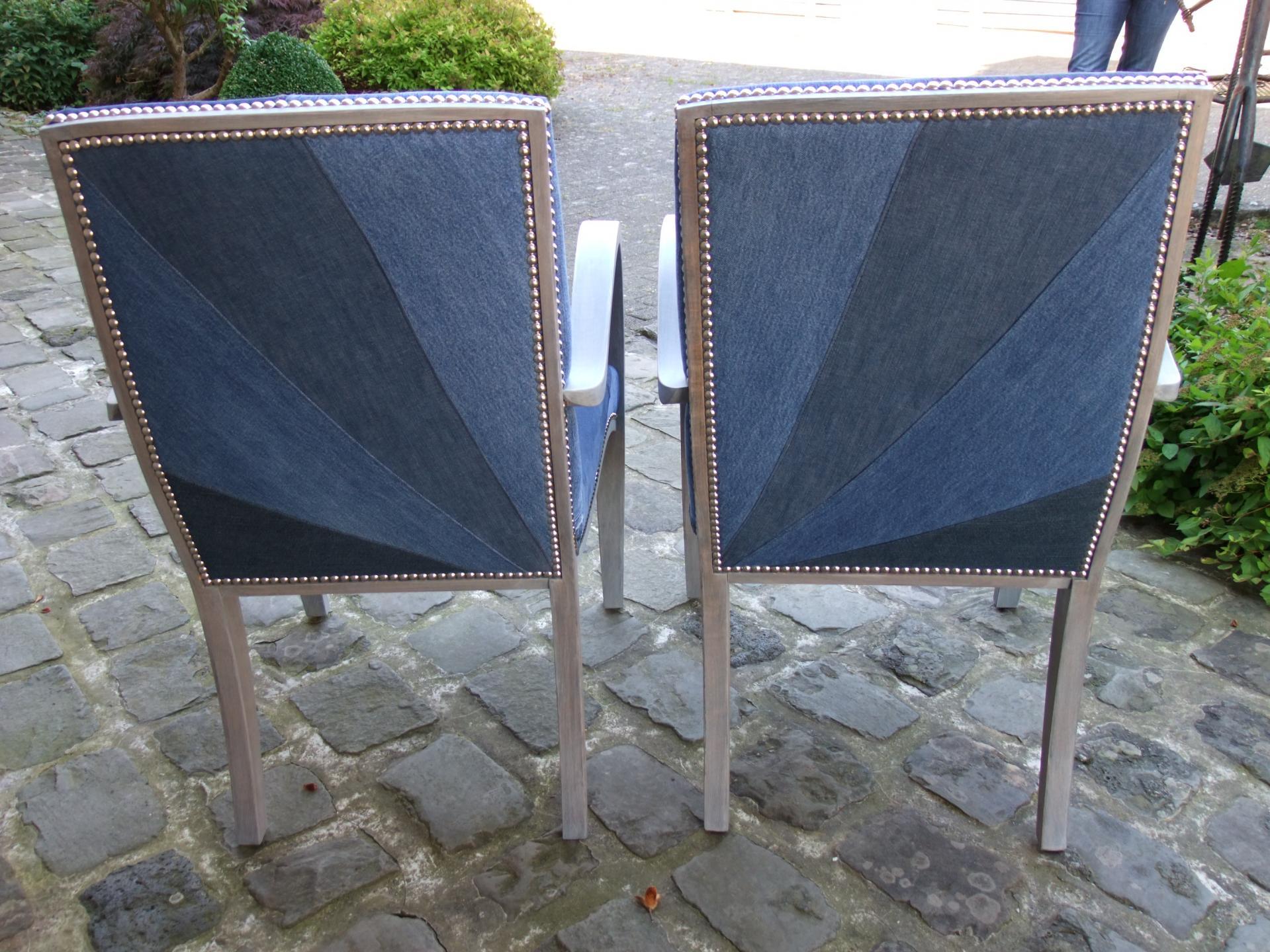 Arrière fauteuils bridge